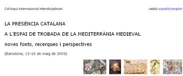 La presència catalana a la Mediterrània