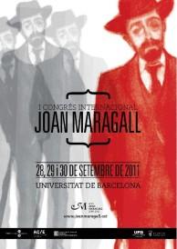 Cartell I Congrés Int. Joan Maragall