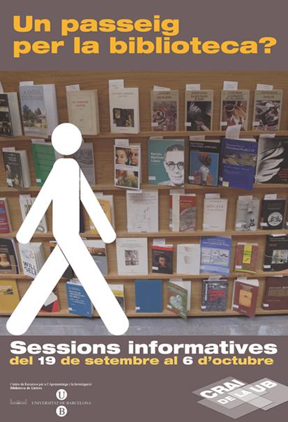 Benvinguda a la biblioteca 2011