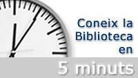 Coneix la biblioteca en 5 minuts