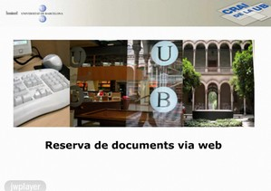 Com reservar - vídeo