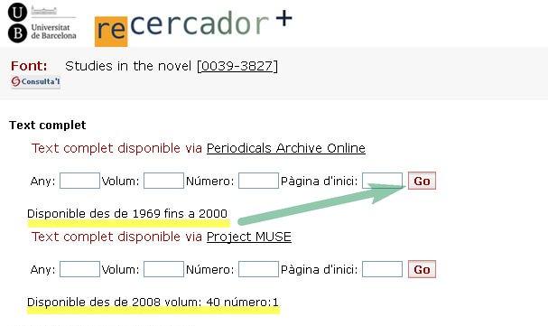 GO - Recercador