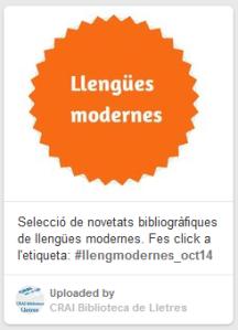 llengües modernes