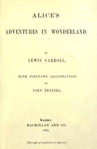 Portada de la primera edició (1865)