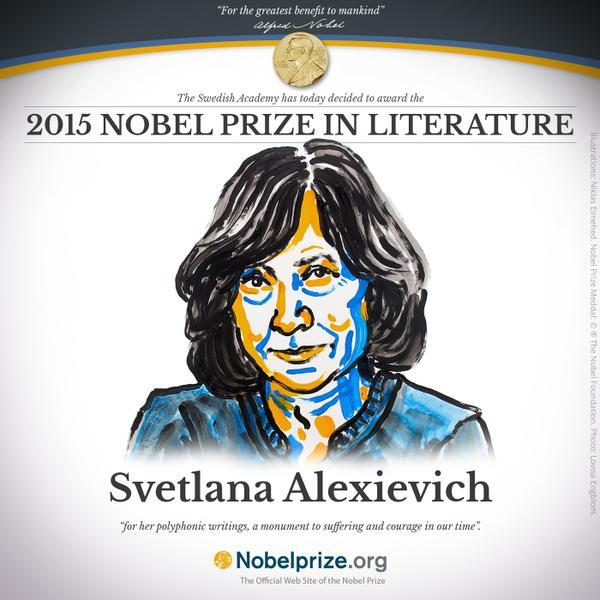 Nobel Literatura 2015