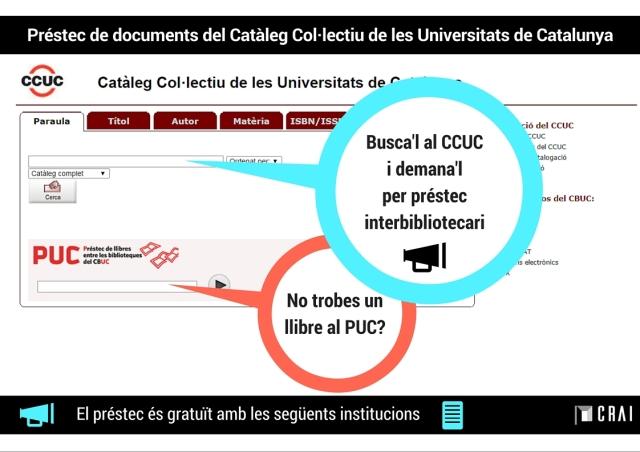 Demanar llibres CCUC (PI)