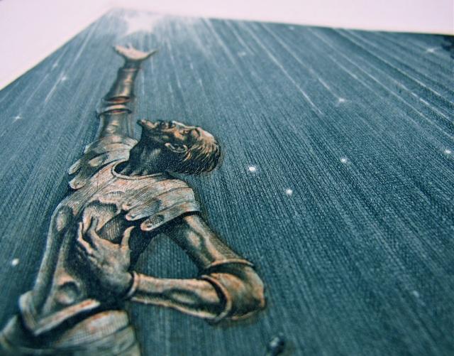 El Ingenioso hidalgo don Quijote de la Mancha / Miguel de Cervantes ; aguafuertes de Teodoro Miciano. Jerez de la Frontera : Jurado, [1952-1966]