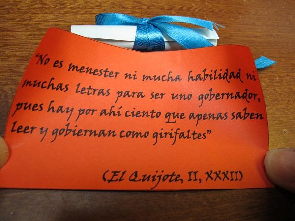 Refrany de M. de Cervantes